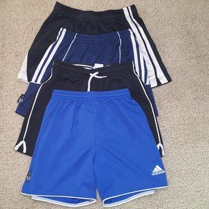 Set of 4 Athletic Shorts Size M